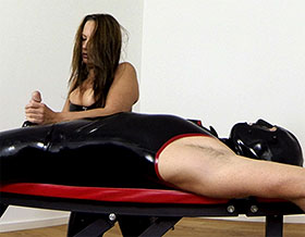 Mistress giving Handjob-Picture1